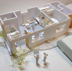 設計事例 美容室「ヘア・ウニール」