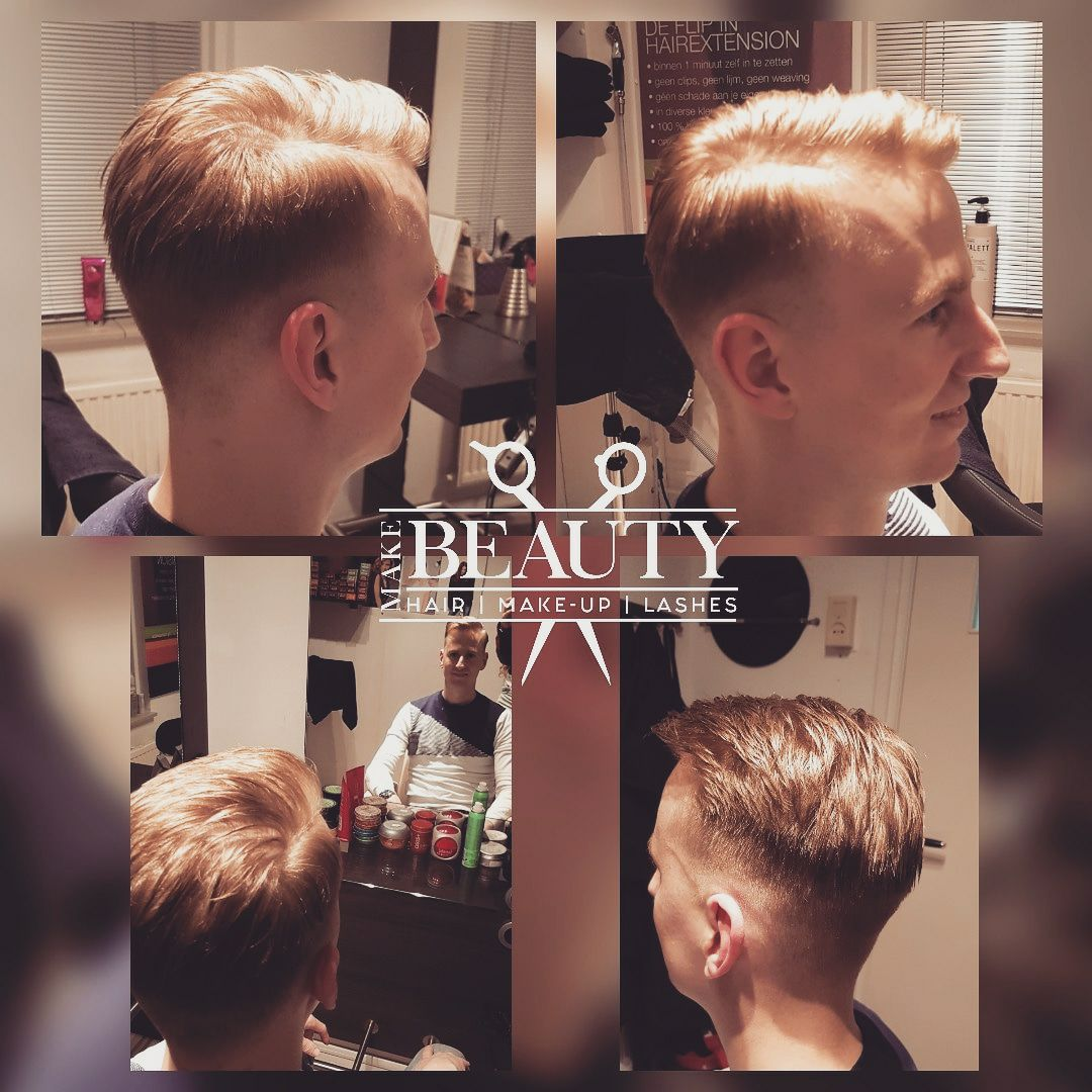 Barber heren kapsel door Make Beauty