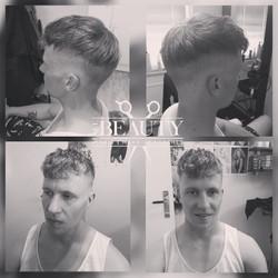 Barber heren kapsel