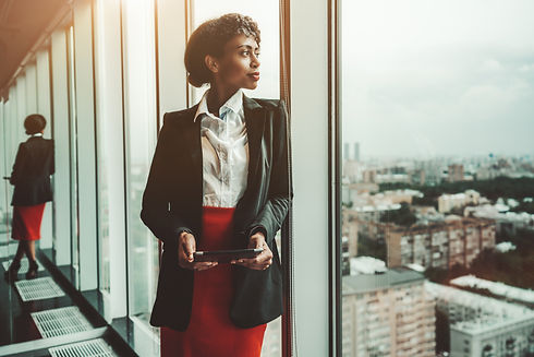 An African-American woman entrepreneur a