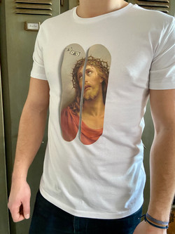Tee shirt Imagine Jesus Homme