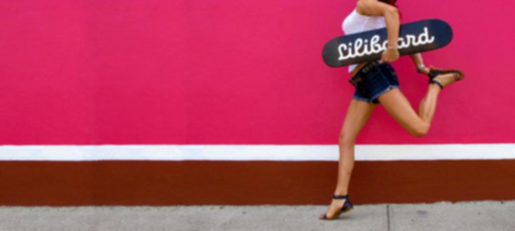 Liliboard - skateboard - deco - skateart - design