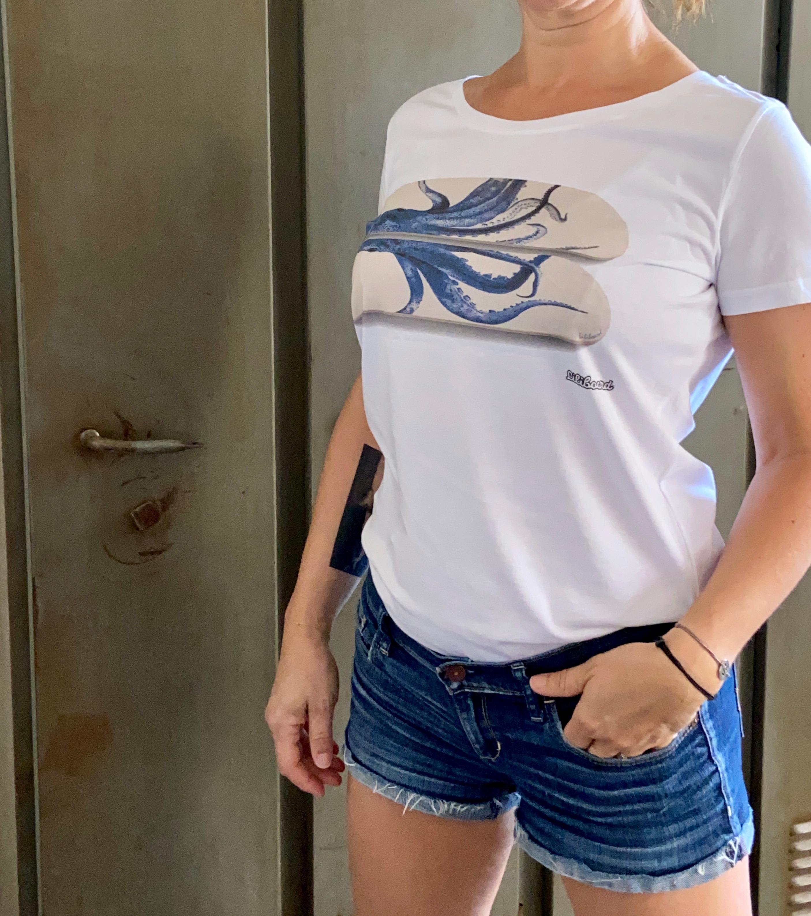 Tee shirt Poulpe Femme