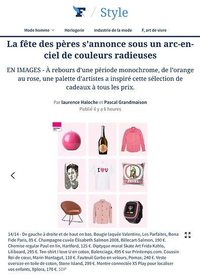 Figaro Magazine 04:06:21 Fête des père