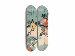 Bird & Roses (Hokusai)