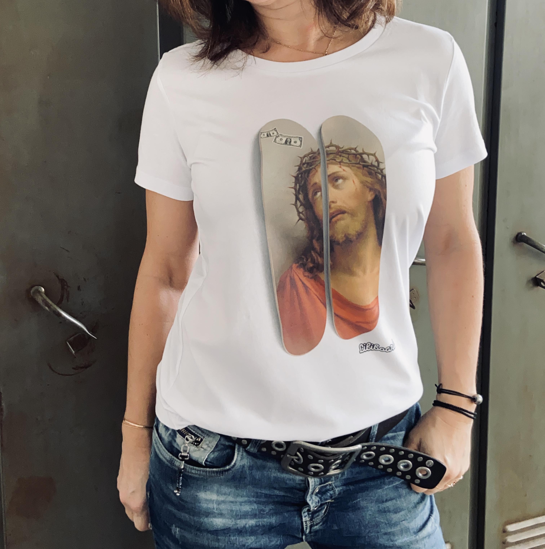 Tee shirt Imagine Jesus Femme