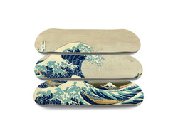 Vague Hokusai - Triptyque