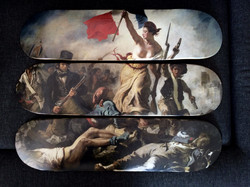 Liberté guidant ... (E. Delacroix)