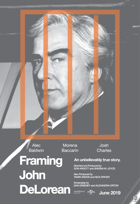 Framing John DeLorean Conceptual Poster