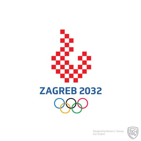 Zagreb 2032 Summer Olympics Concept