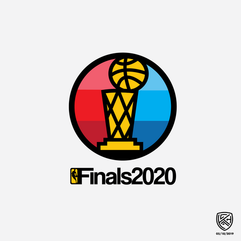 NBA Finals Primary Logo Concept
