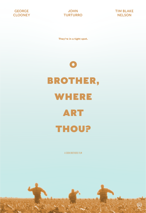 O Brother, Where Art Thou? Concept Poster