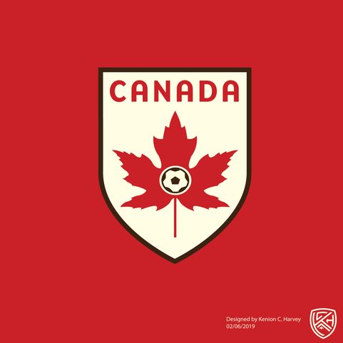 Canada National Football Team Crest Concept