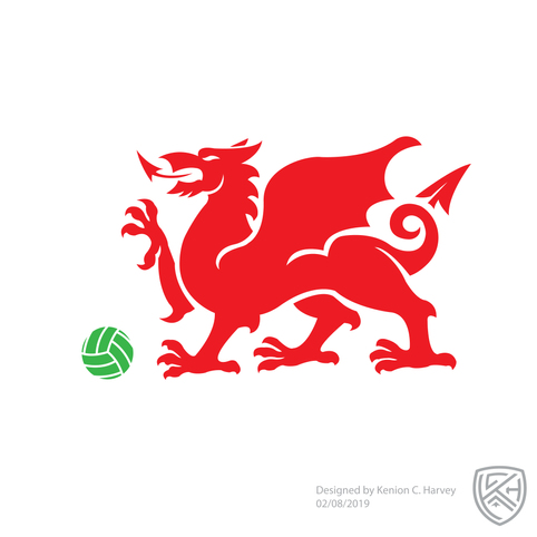 Wales Football Crest Concept