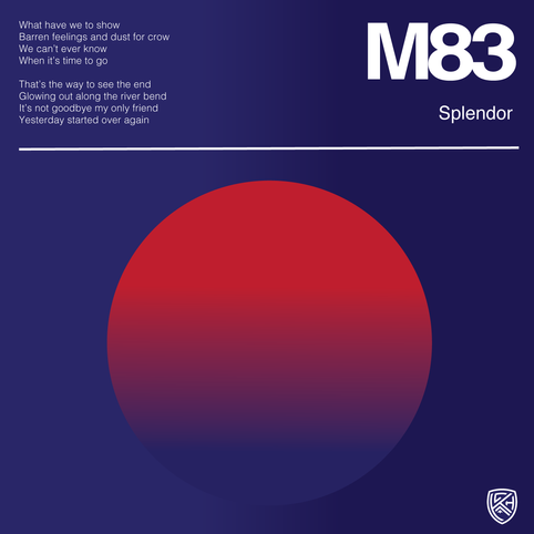 M83 Splendor Lyrical