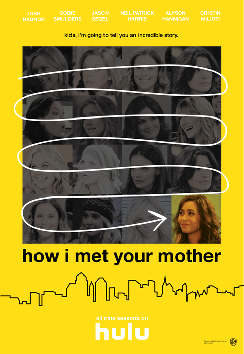 How I Met Your Mother Concept Poster