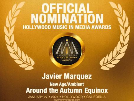 Nominación a los Hollywood Music in Media Awards
