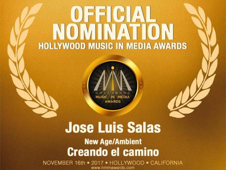 Nominaciones a los Hollywood Music in Media Awards