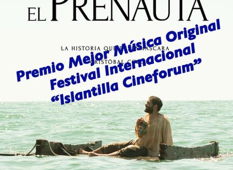 "Premio Mejor Música Original ""El Prenauta"""