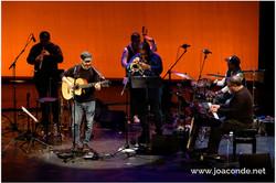 Con Luis Medina Band