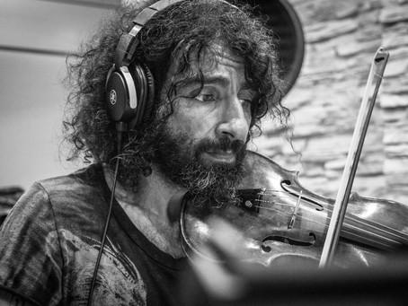 Grabación en nuevo disco de Ara Malikian