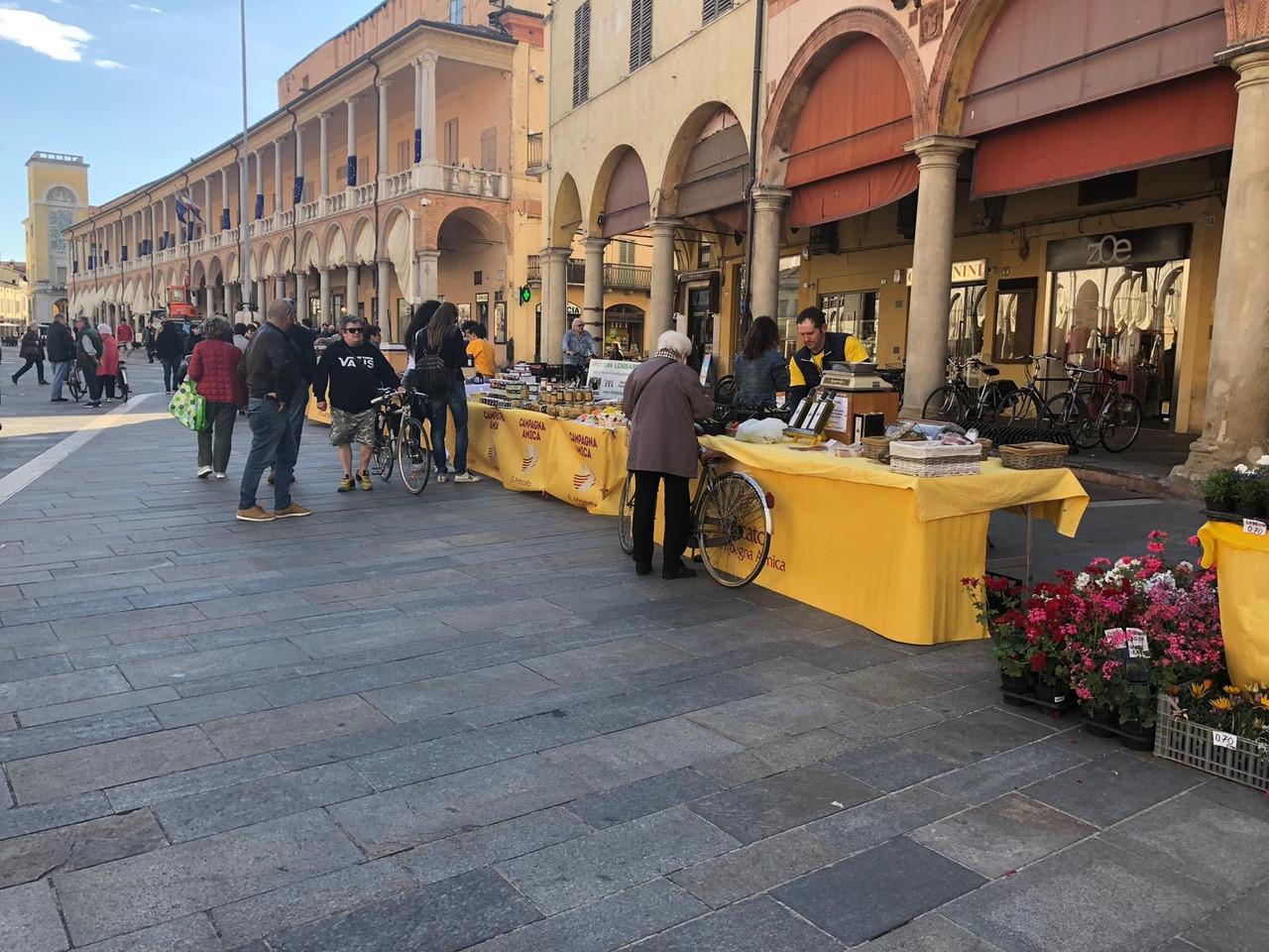 Mercato di Campagna Amica a Faenza 2019