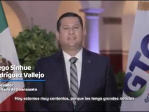 グアナファト州の知事がトヨタの投資を発表