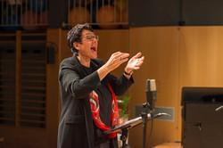 Chorleiterin Gisela Scharnagl