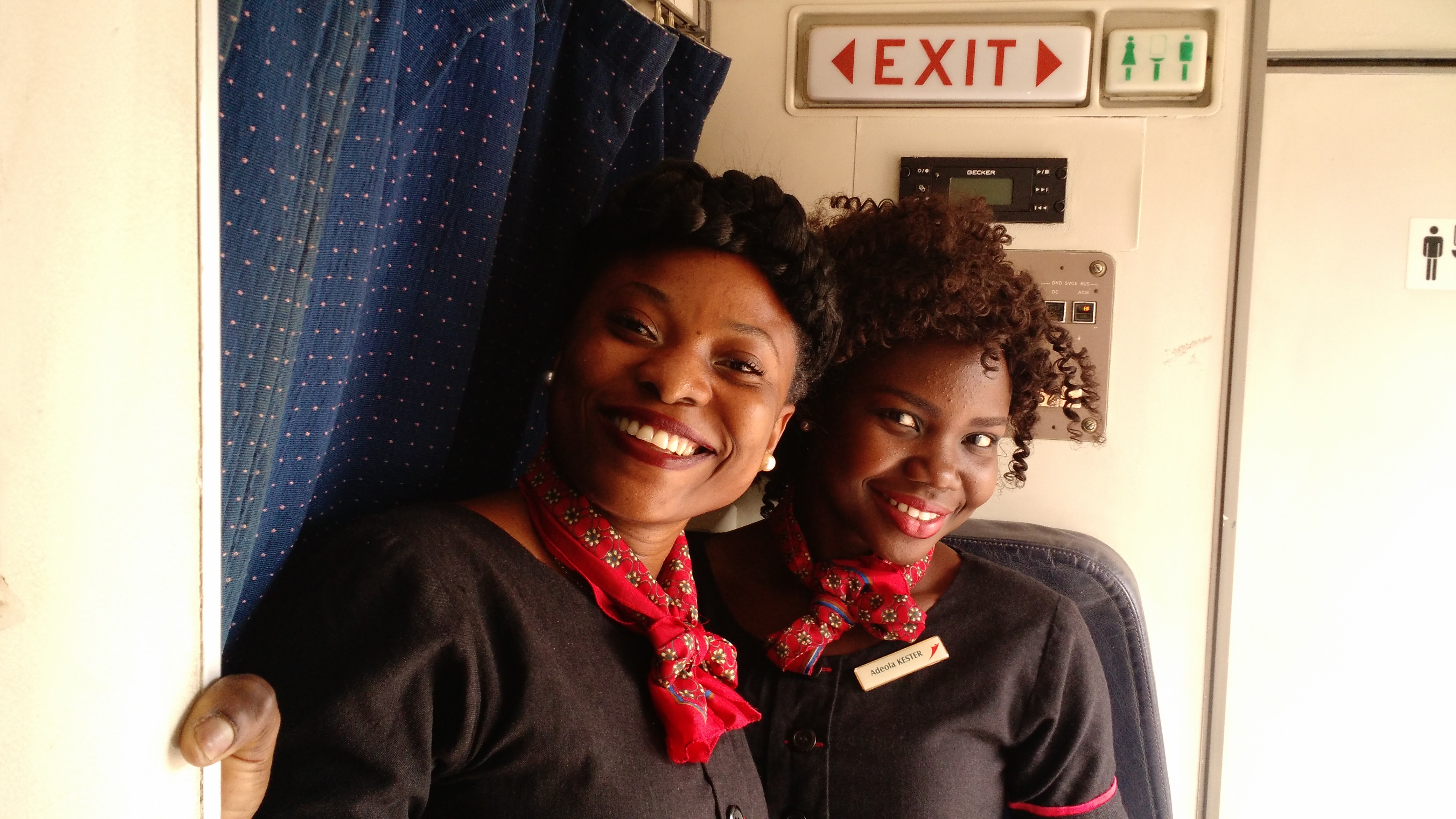 Nigerian Flight Attendants
