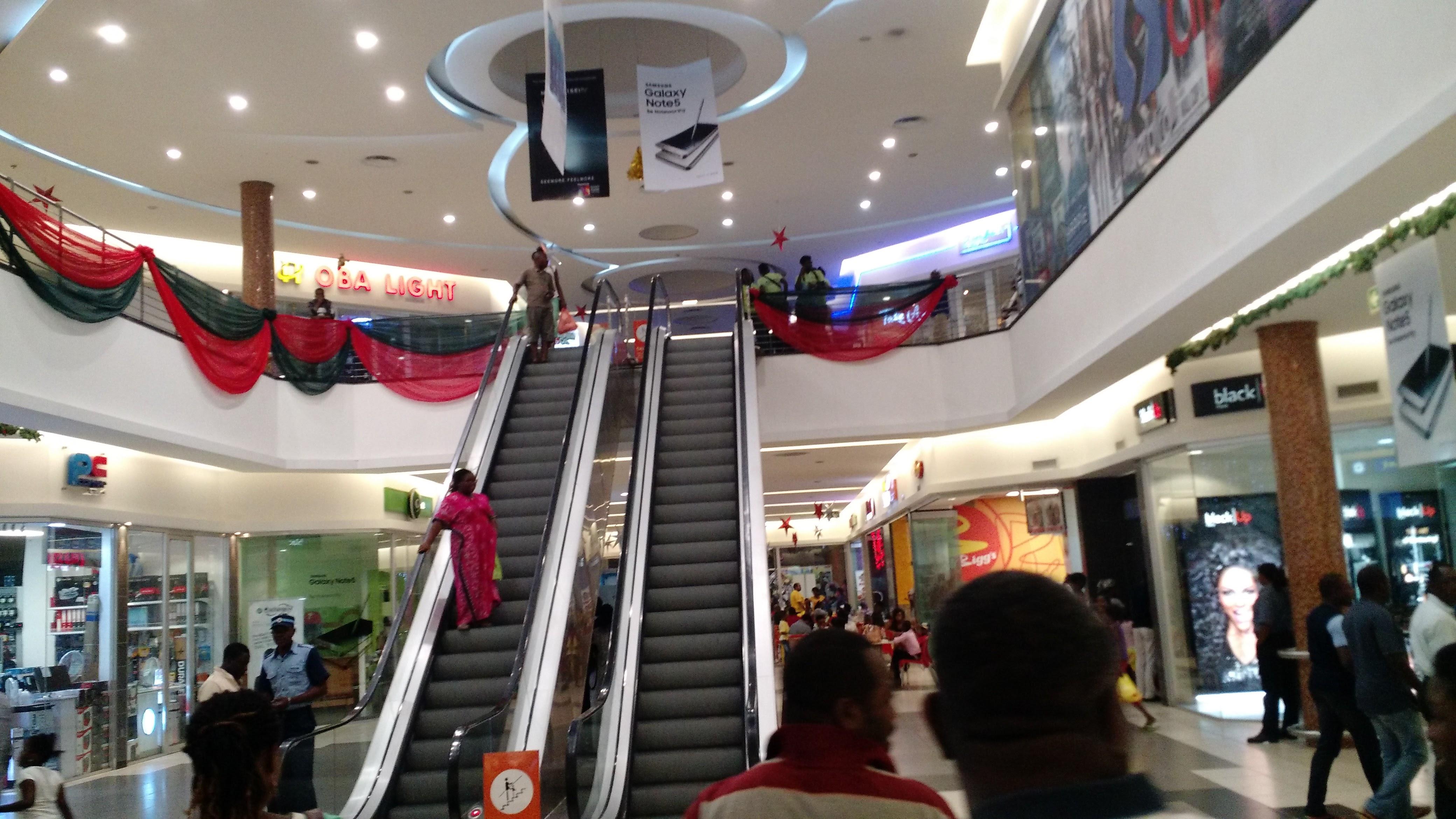 A Nigerian Mall