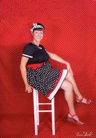 Une robe style rétro
