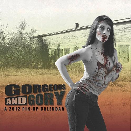 2012 Gorgeous & Gory Zombie Pinup Calendar