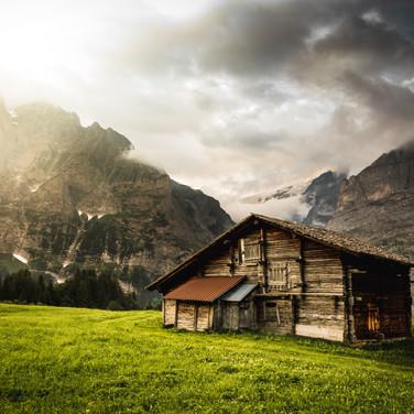 Scotland hut