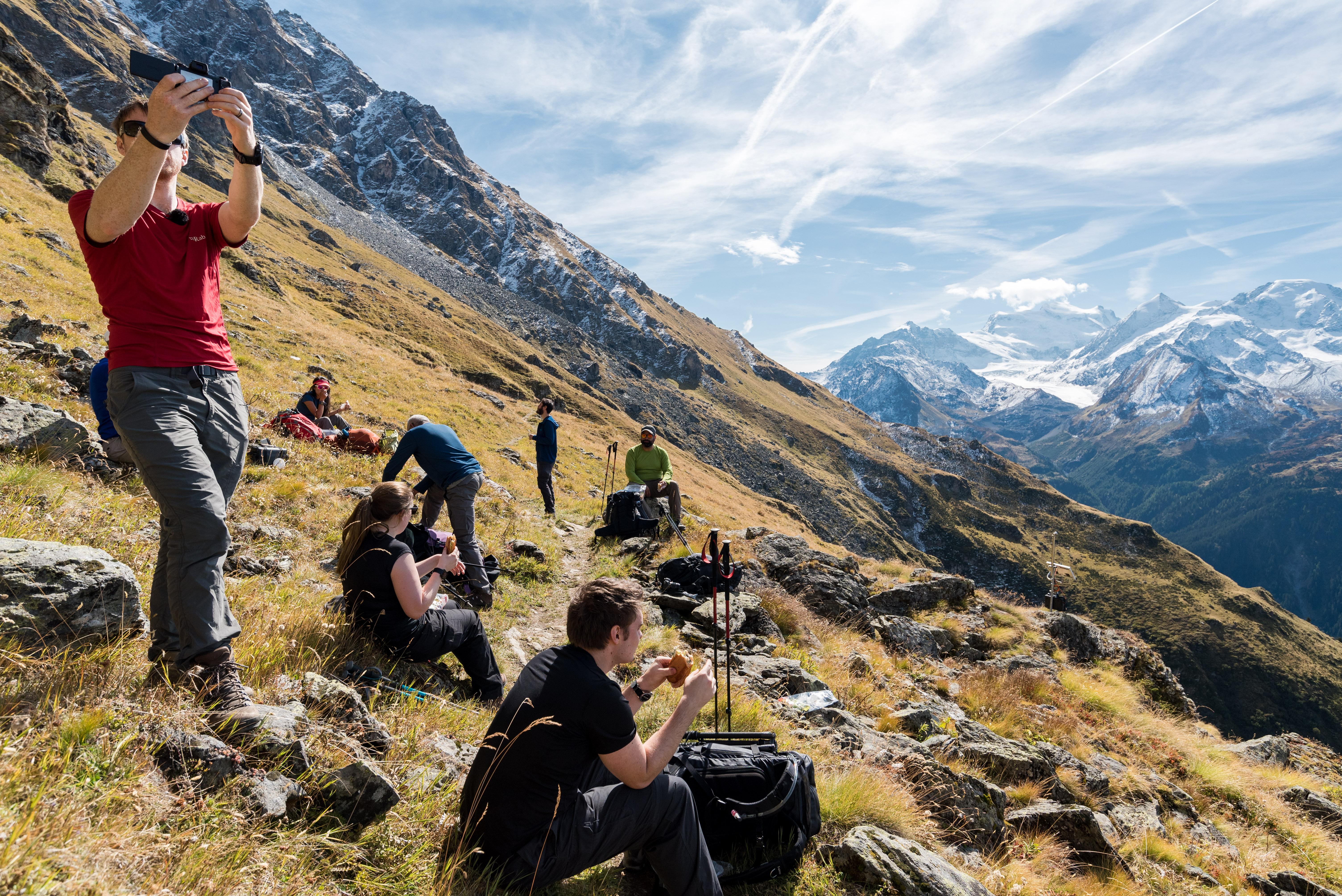 chamonix, trail running, hiking tour