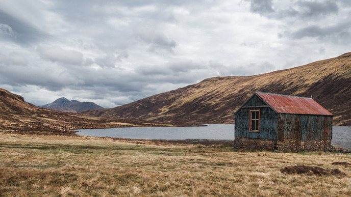 Solo in Scotland - Western Highlands