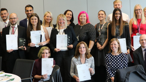 Lloyds Banking Group held their first internal Apprenticeship Awards