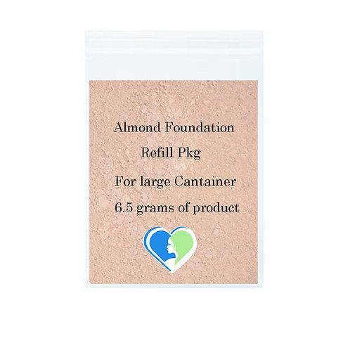 Almond Foundation Refill Pkg