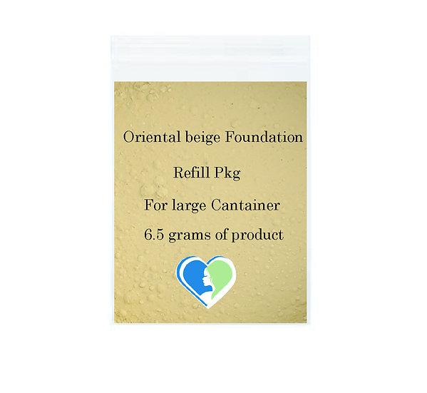Oriental Beige Mineral Foundation Refill pkg
