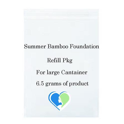 Summer Bamboo Mineral Foundation Refill pkg