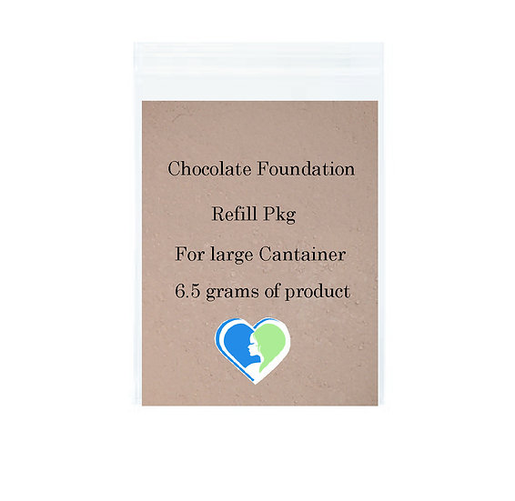 Chocolate Mineral Foundation Refill pkg