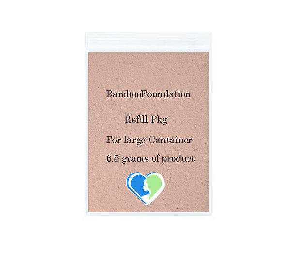 Bamboo Mineral Foundation Refill pkg