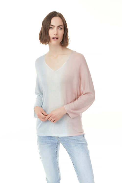Ombre Sweater in Pearlpink