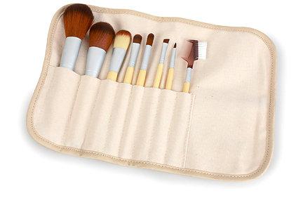 7 peice brush set