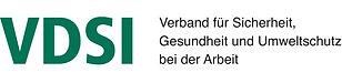 Mitglied im VDSI Verband für Sicherheit, Gesundheit und Umweltschutz bei der Arbeit