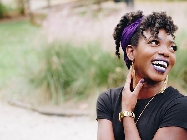 Black Women Purple Headband.jpg