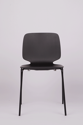 BABILA dining chair w. steel legs