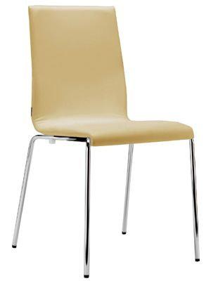 KUADRA dining chair w. leather