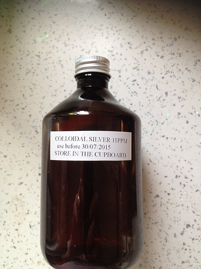 Colloidal Silver 500ml 11ppm