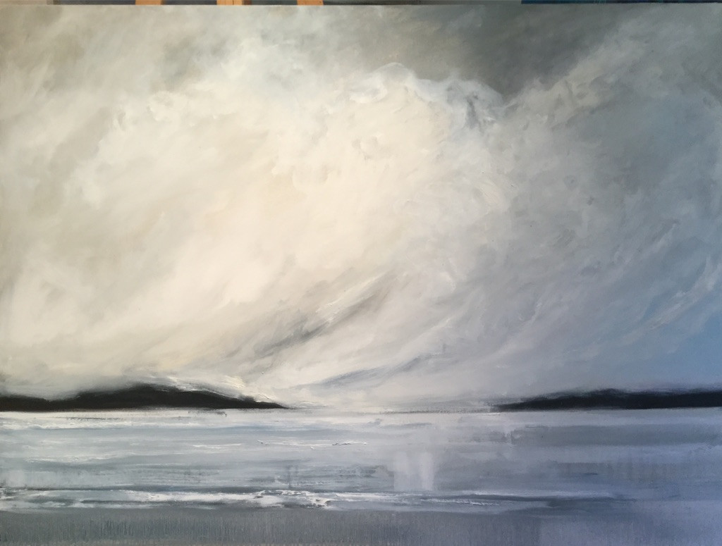 Passing Storm #2     36x48""