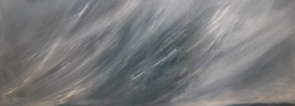 "Rain Storm #2         36x48"""